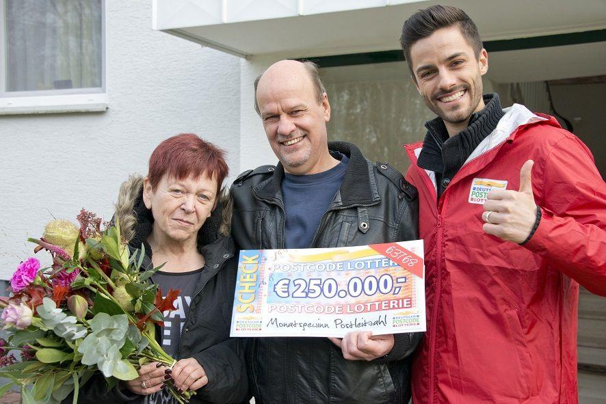 Postcode Lotterie Gewonnen